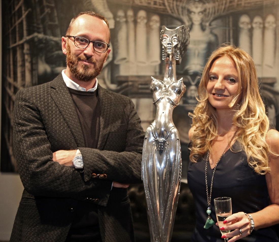 Fabiola Cinque e Federico De Cesare Viola