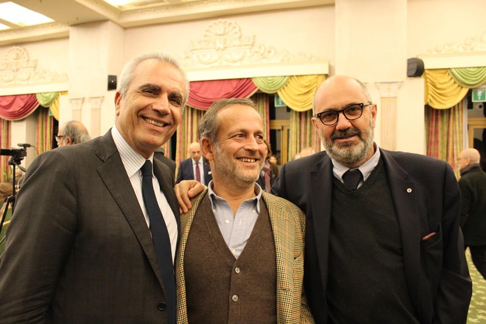 Rudy Girardi, Sandro Cherio ed Edoardo Bianchi