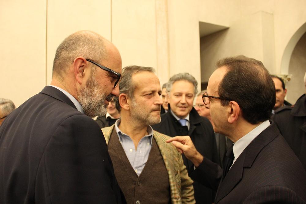 Edoardo Bianchi, Sandro Cherio e Stefano Parisi