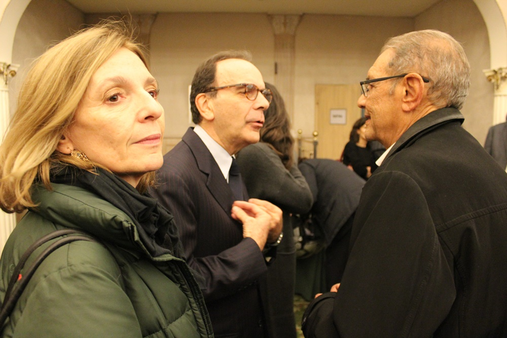 Cinzia Messori e Stefano Parisi