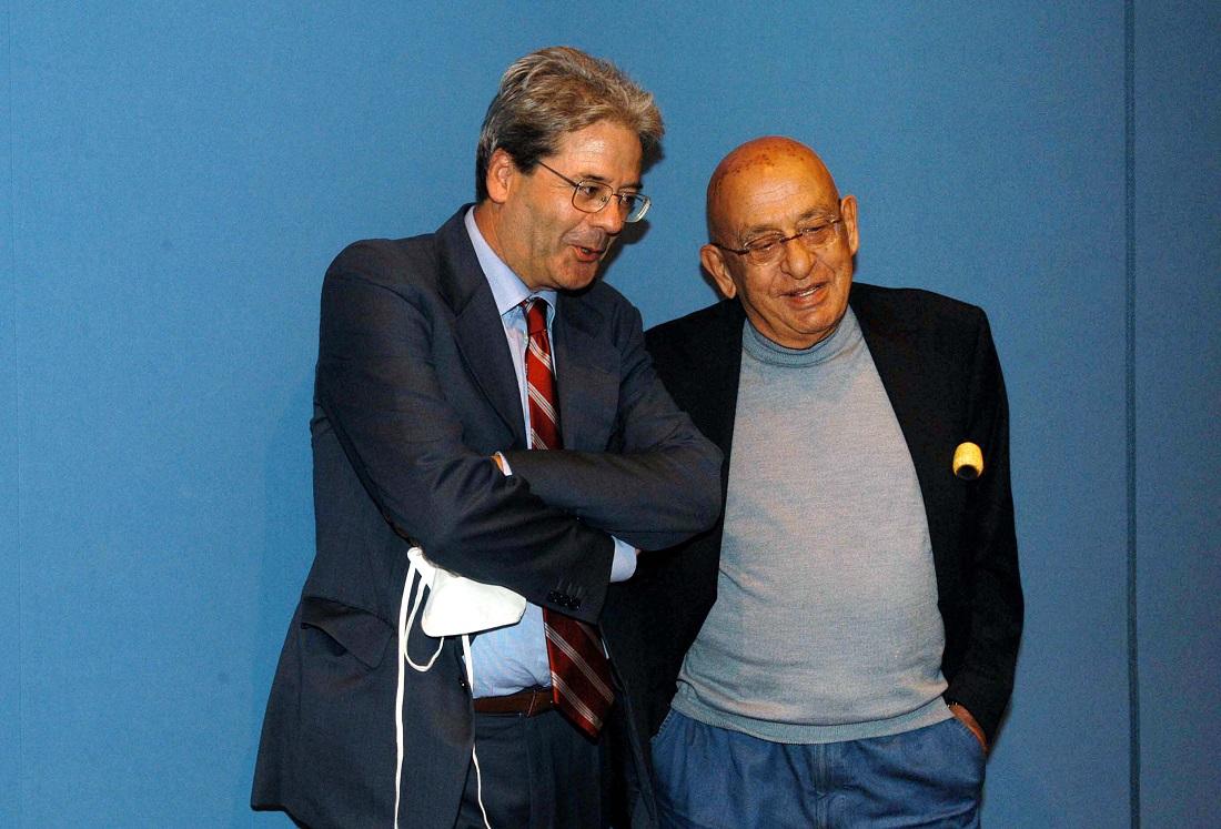 Paolo Gentiloni e Landro Curzi