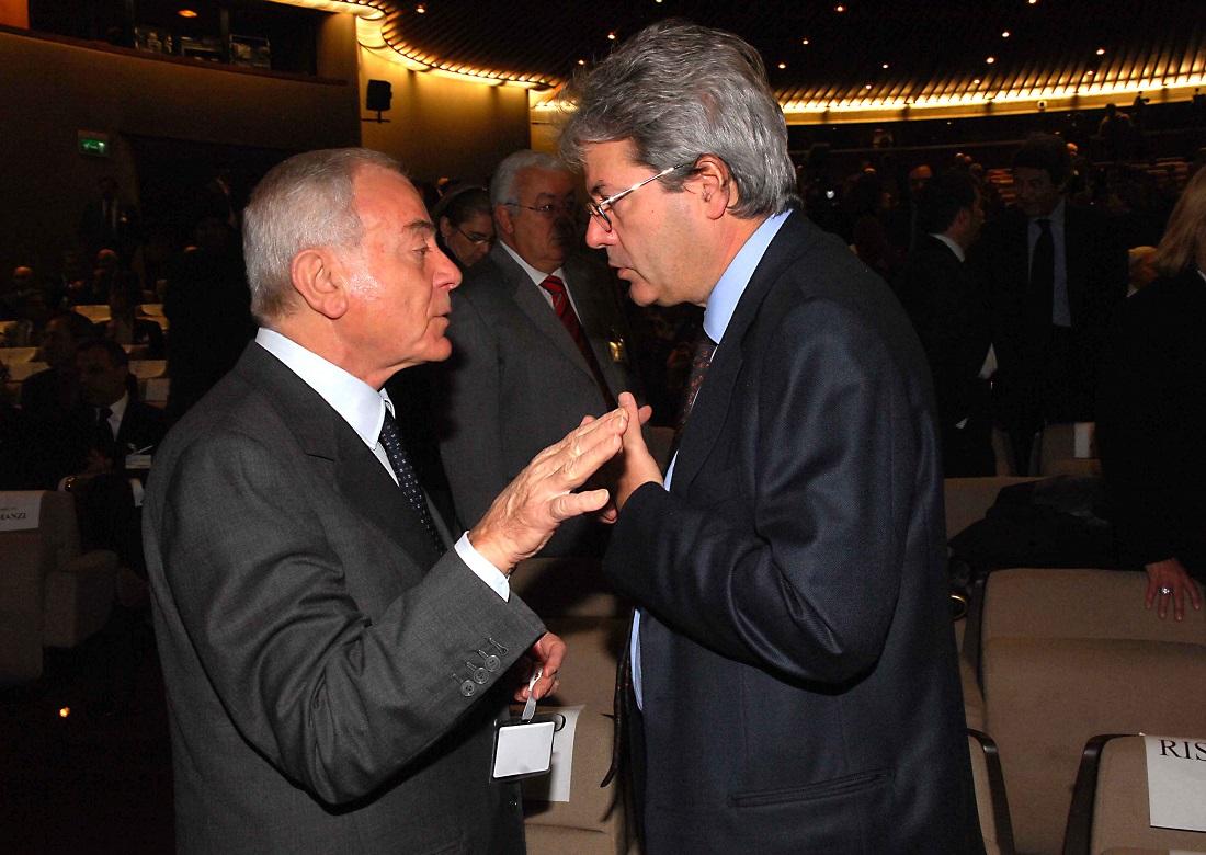 Gianni Letta e Palo Gentiloni