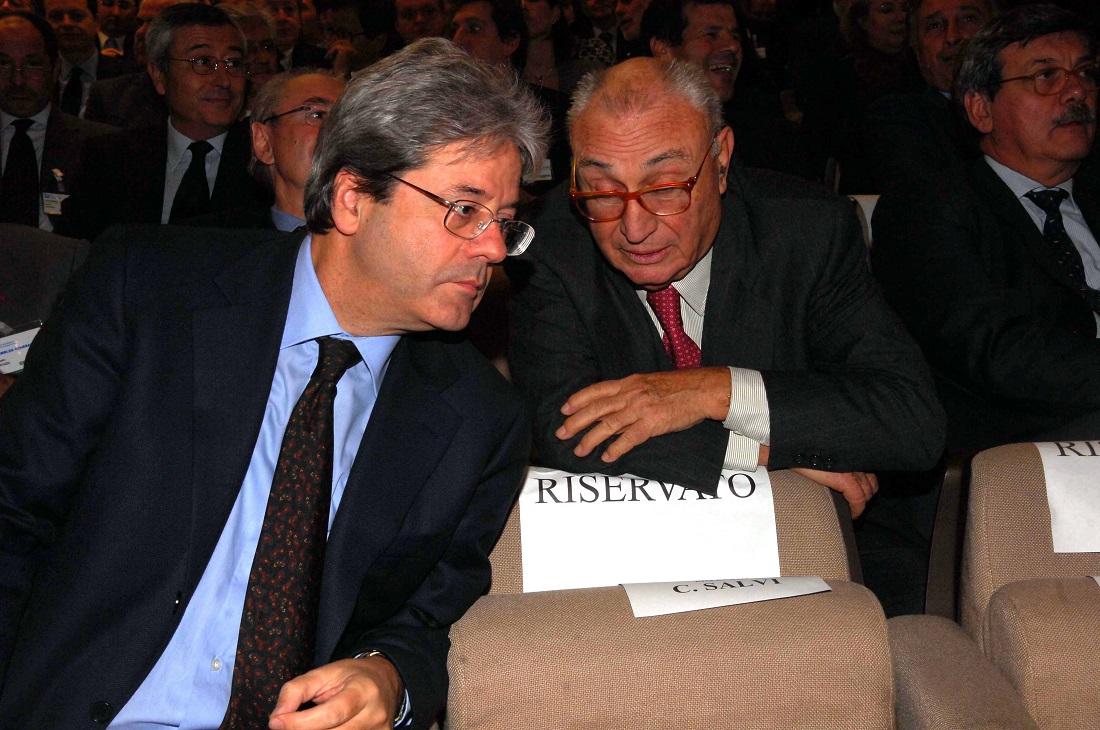 Paolo Gentiloni e Fabiano Fabiani
