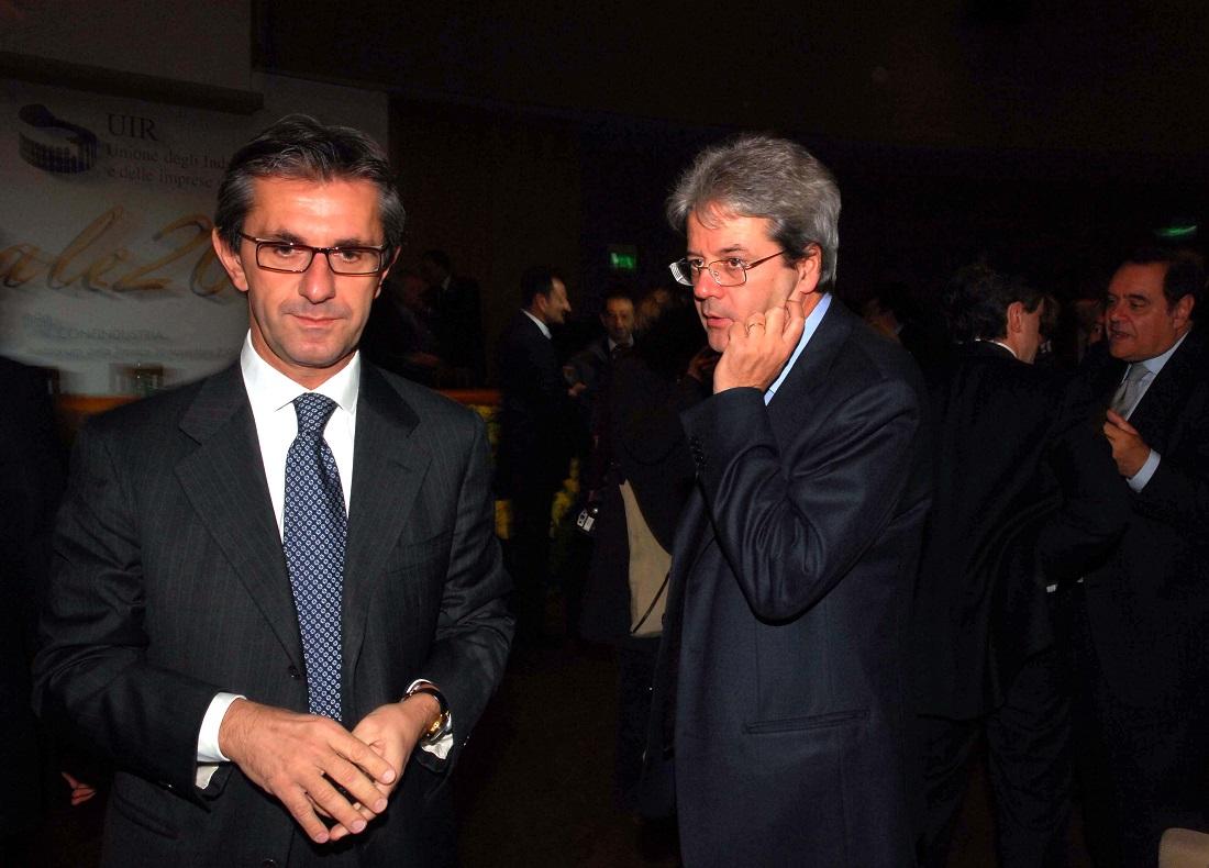 Vincenzo Novari e Paolo Gentiloni