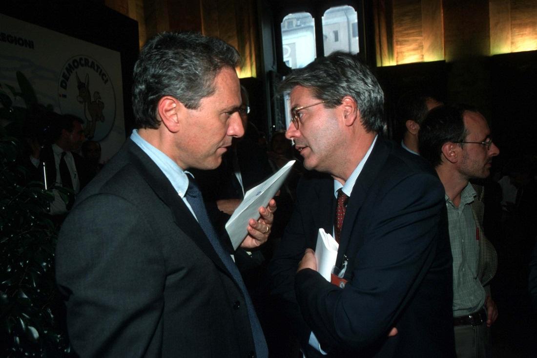 Francesco Rutelli e Paolo Gentiloni