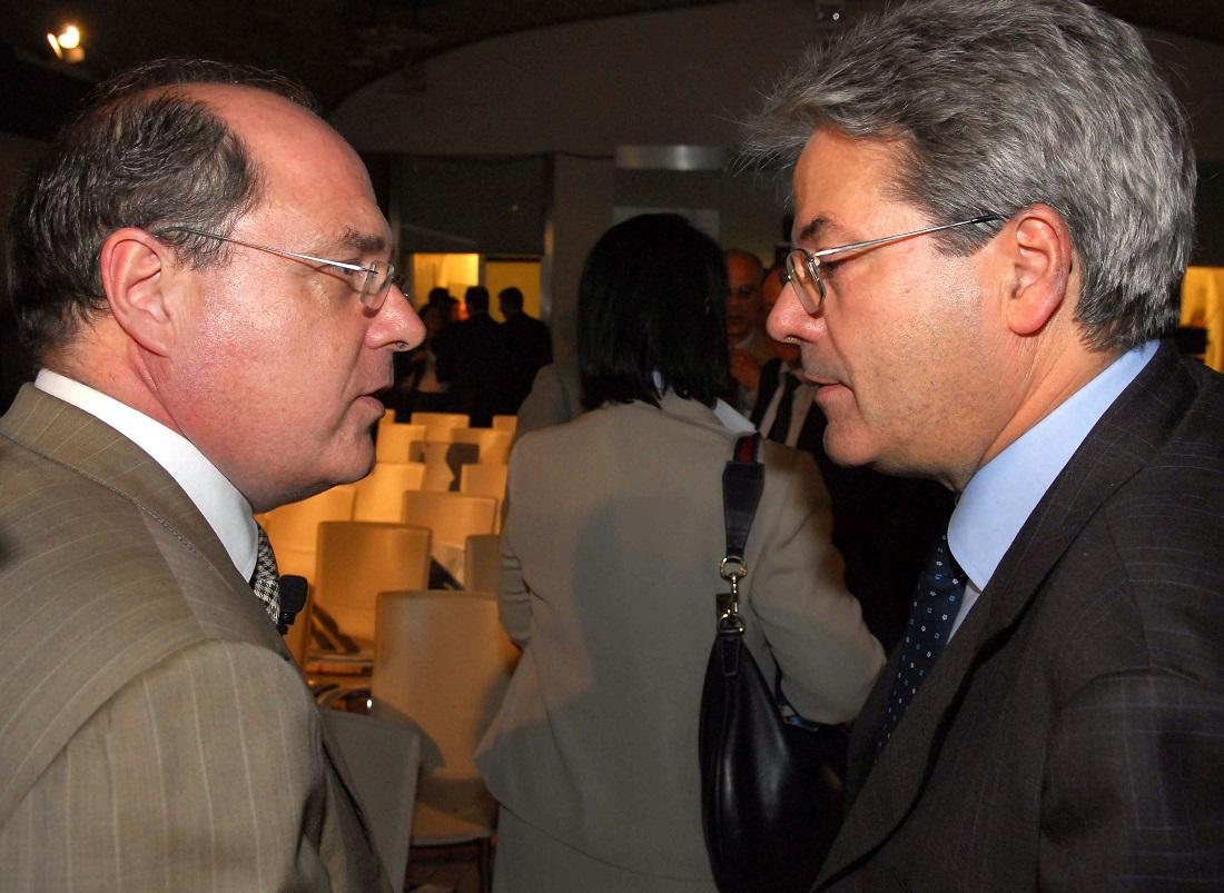 Claudio Cappon e Paolo Gentiloni