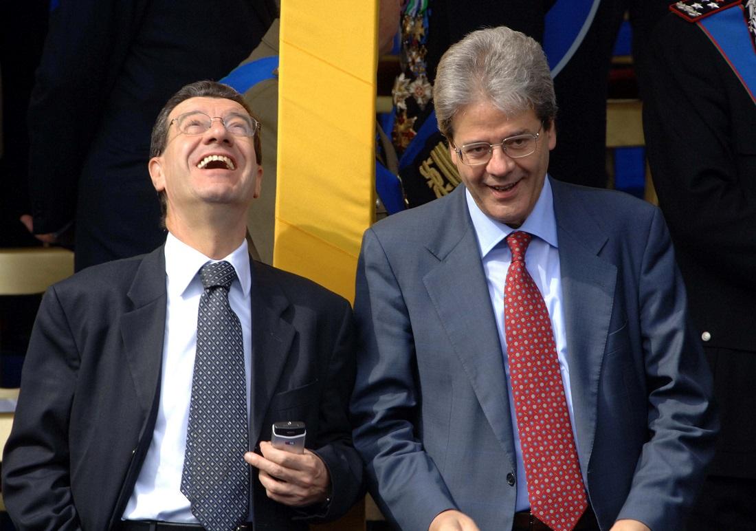 Vannino Chiti e Paolo Gentiloni