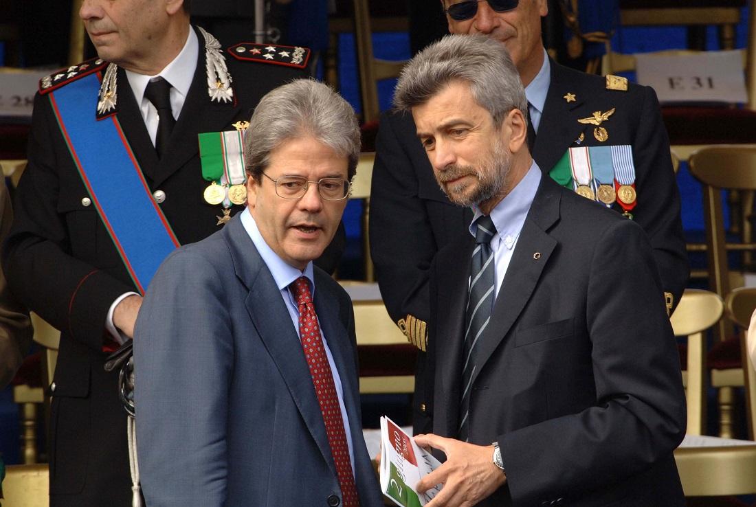 Paolo Gentiloni e Cesare Damiano