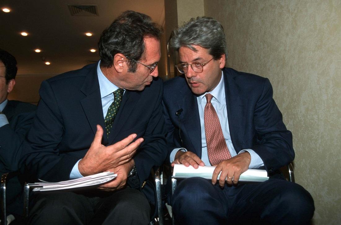 Roberto Zazzaria e Paolo Gentiloni
