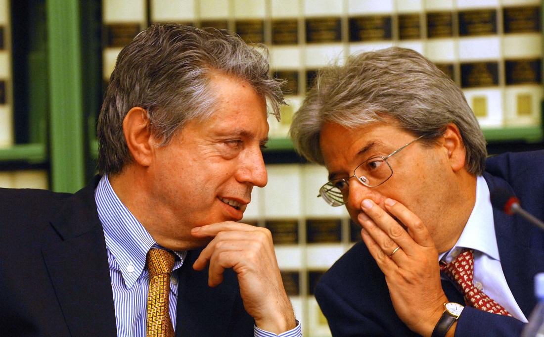 Franco Pizzetti e Paolo Gentiloni