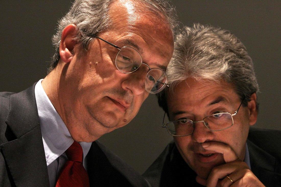 Walter Veltroni e Paolo Gentiloni