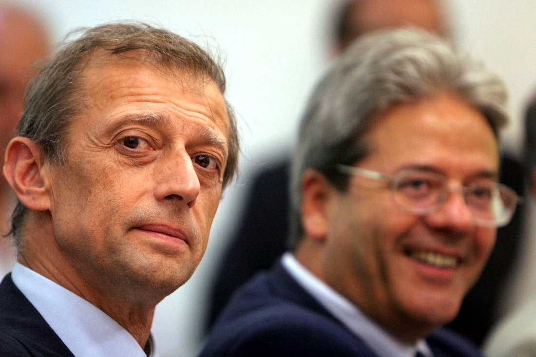 Piero Fassino e Paolo Gentiloni