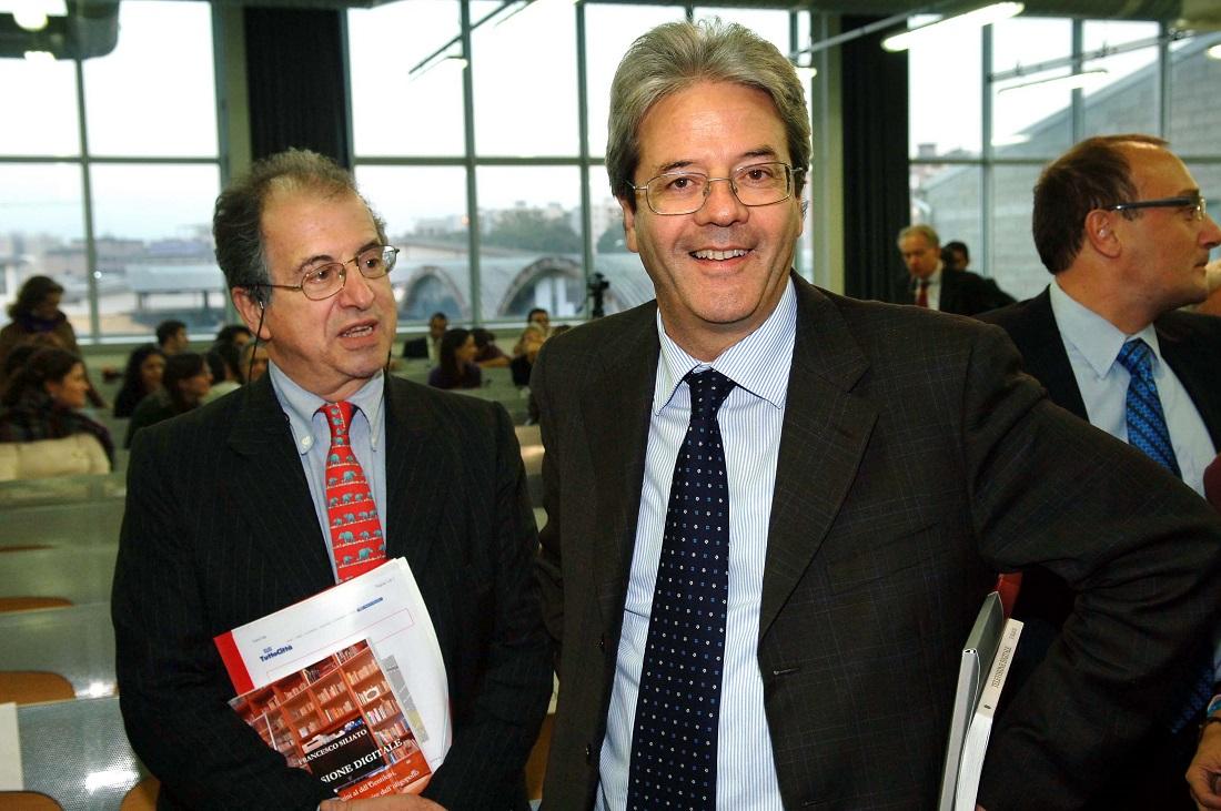 Sandro Parenzo e Paolo Gentiloni