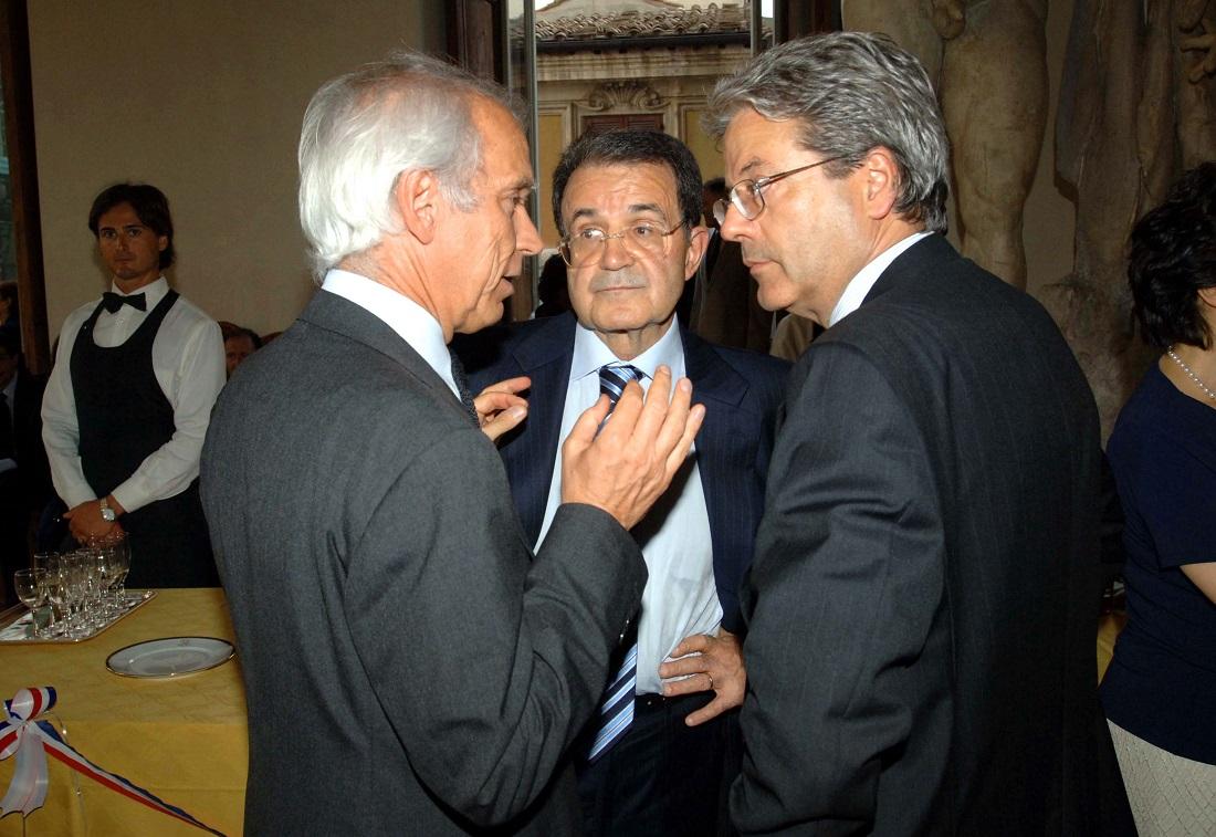 Romano Prodi e Paolo Gentiloni