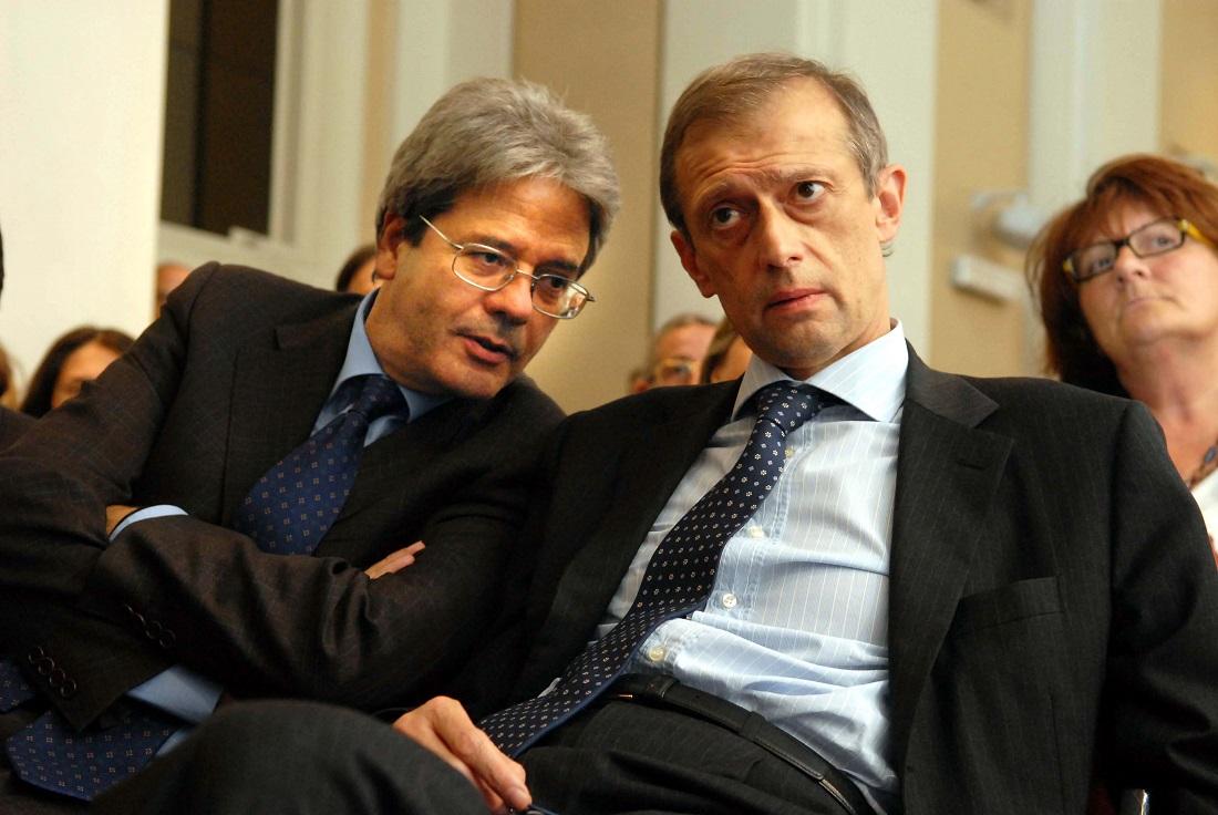 Paolo Gentiloni e Piero Fassino