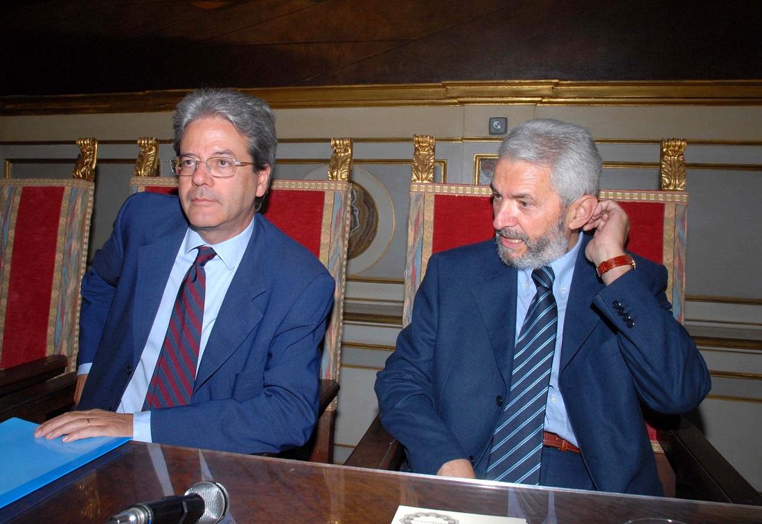 Paolo Gentiloni e Alfiero Grandi