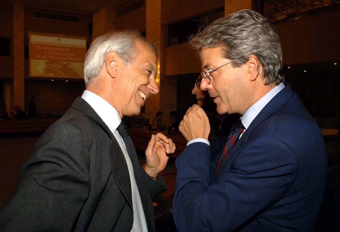 Ricky Ricardo Franco Levi e Paolo Gentiloni