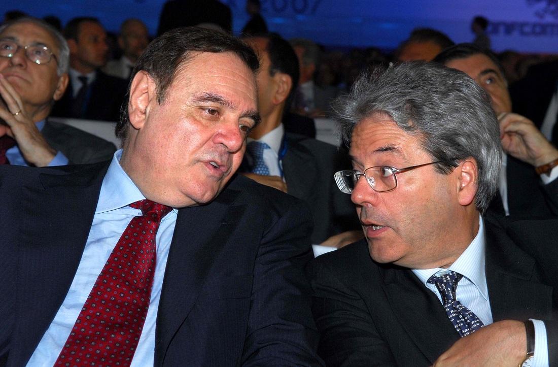 Clemente Mastella e Paolo Gentiloni