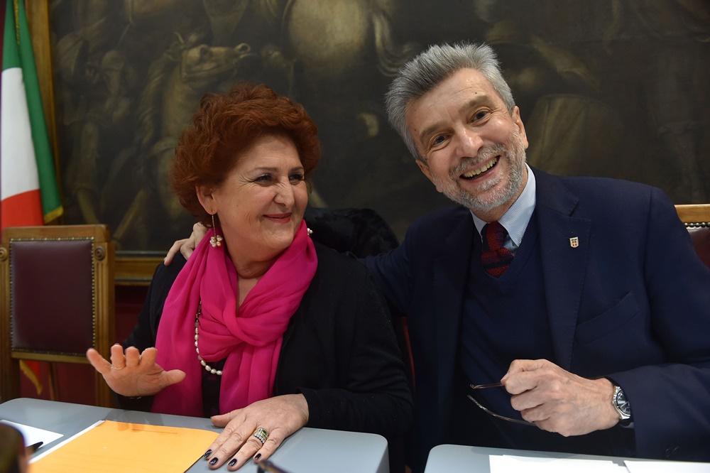 Teresa Bellanova e Cesare Damiano (2014)