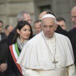 Papa Francesco e Virginia Raggi