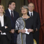 Marianna Madia, Carlo Calenda, Anna Finocchiaro e Pier Carlo Padoan