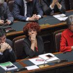 Maurizio Martina, Valeria Fedeli e Anna Finocchiaro