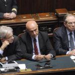 Claudio De Vincenti, Marco Minniti e Pier Carlo Padoan