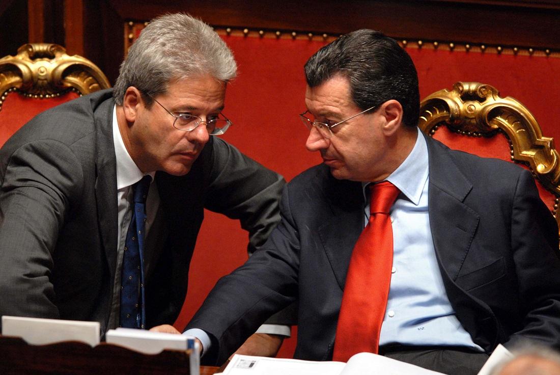 Paolo Gentiloni e Vannino Chiti