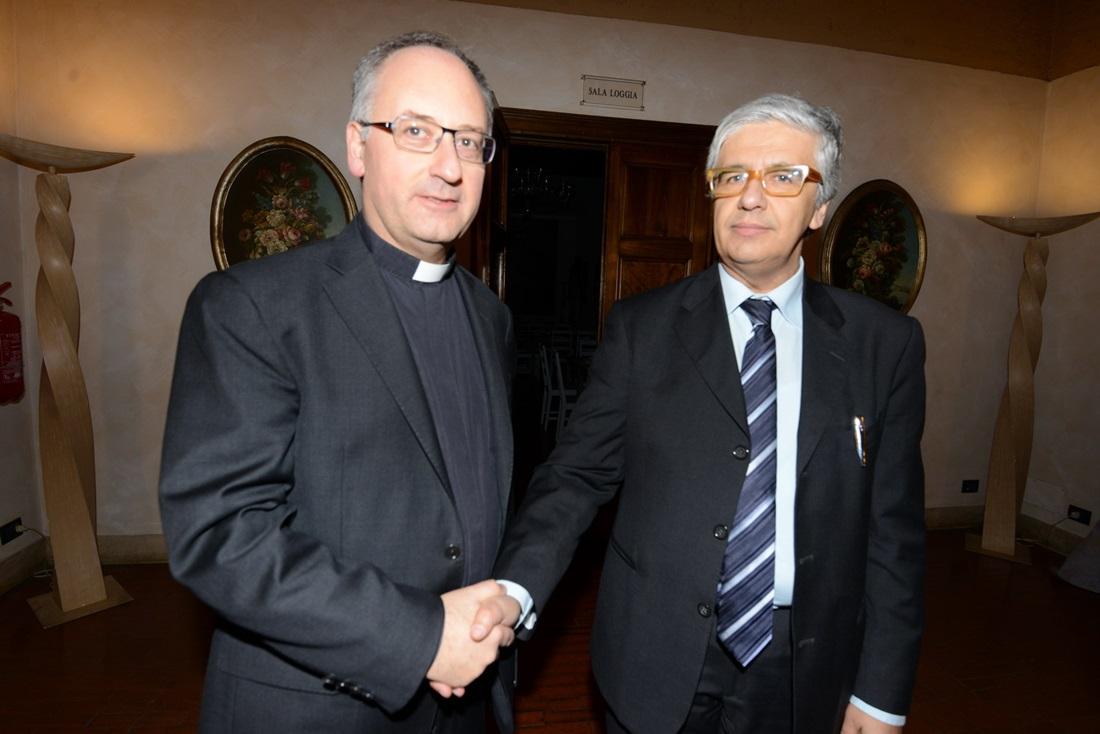 Antonio Spadaro e Andrea Tornielli