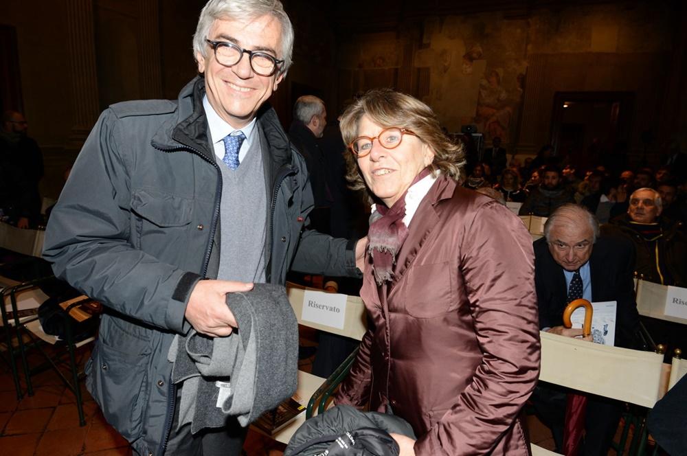 Marco Ravaglioli e Serena Andreotti