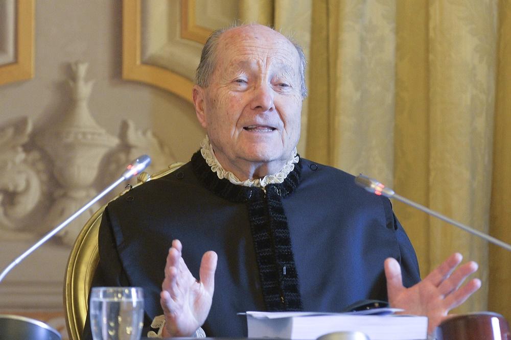 Paolo Grossi (presidente Corte Costituzionale)