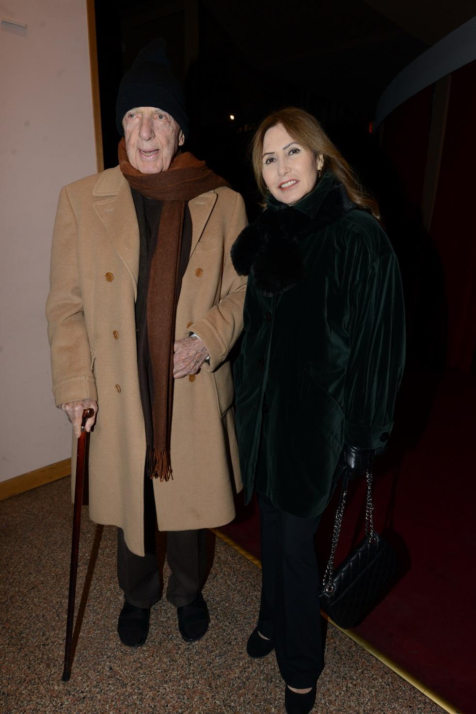 Lillio Sforza Ruspoli e moglie Pia