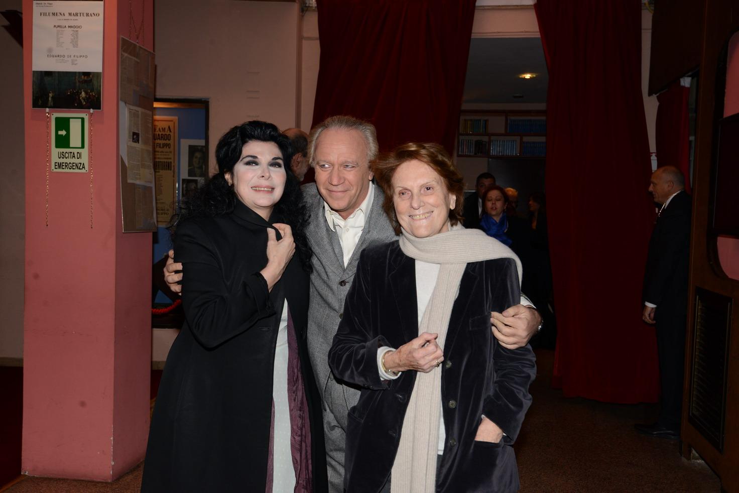 MARIANGELA D'ABBRACCIO GEPPY GLEJIESES LILIANA CAVANI
