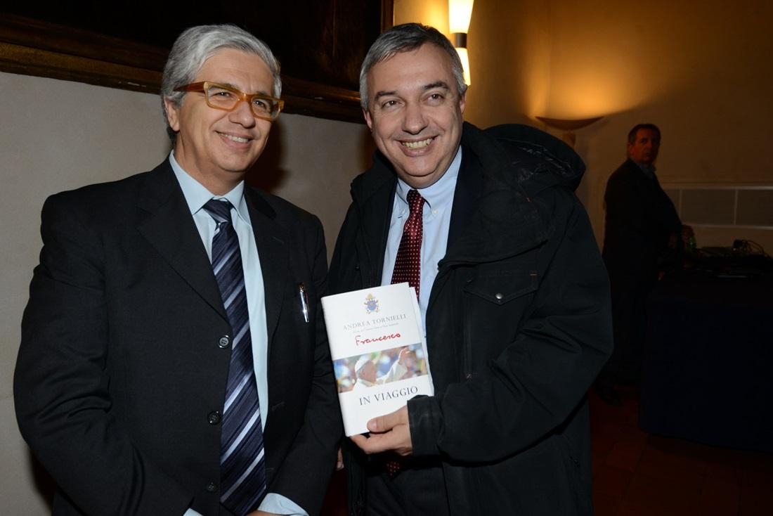 Andrea Tornielli e Maurizio Molinari