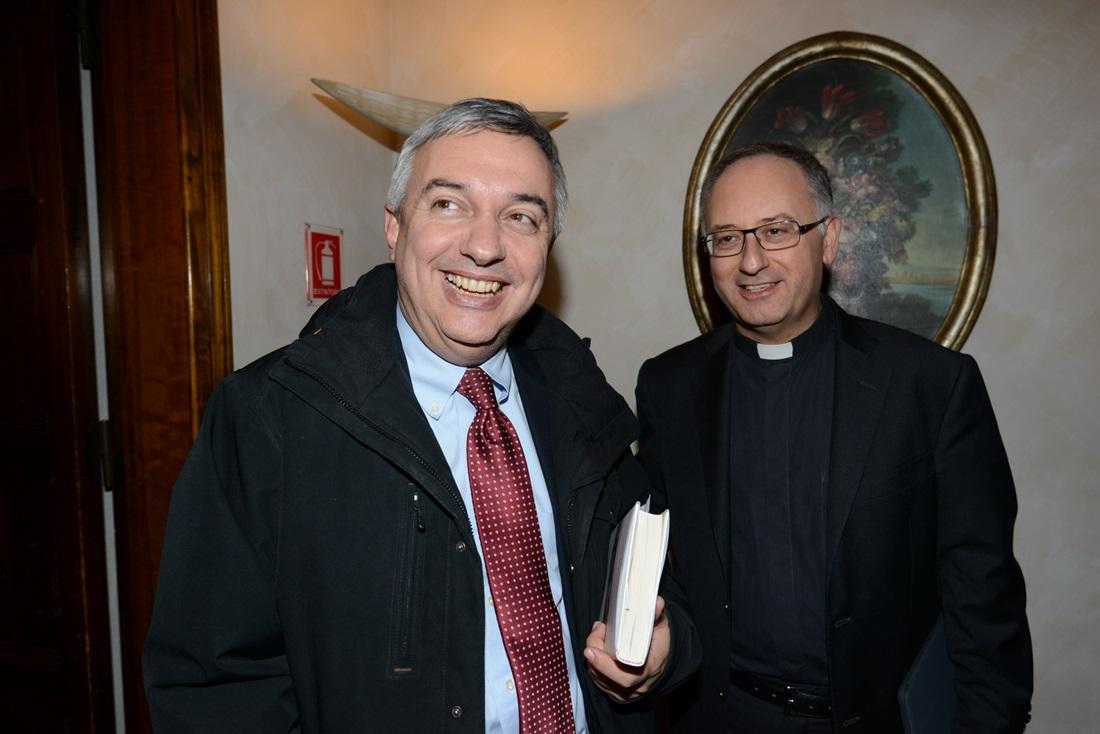 Maurizio Molinari e Antonio Spadaro