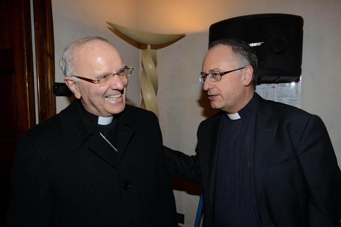 Nunzio Galantino e Antonio Spadaro