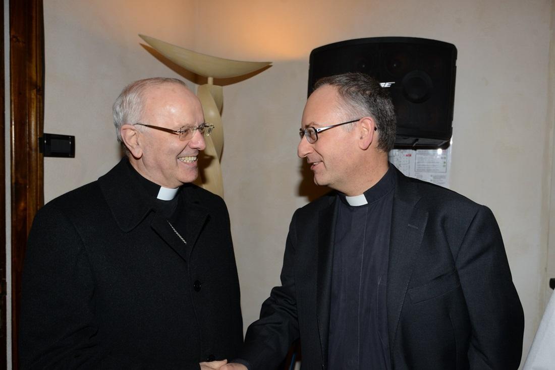 Nunzio Galatino e Antonio Spadaro