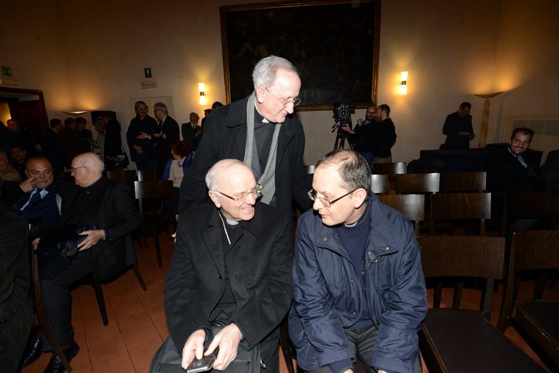 Nunzio Galatino e Ivan Maffei