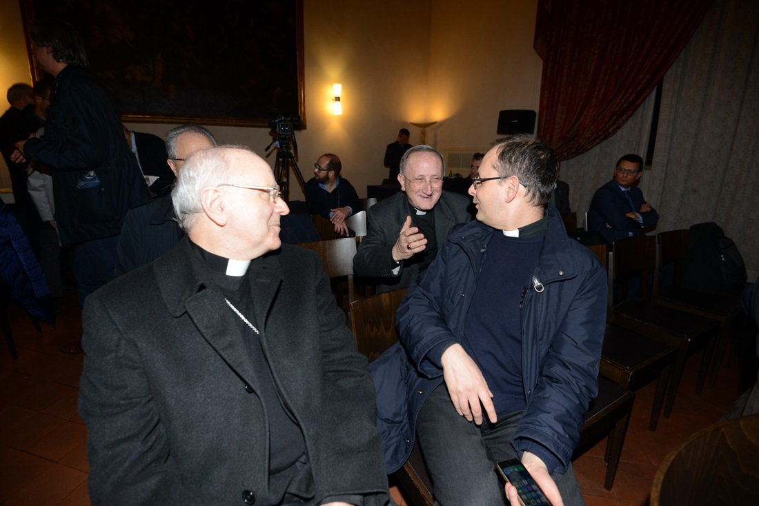 Nunzio Galantino, Ivan Maffei e Giuseppe Sciacca