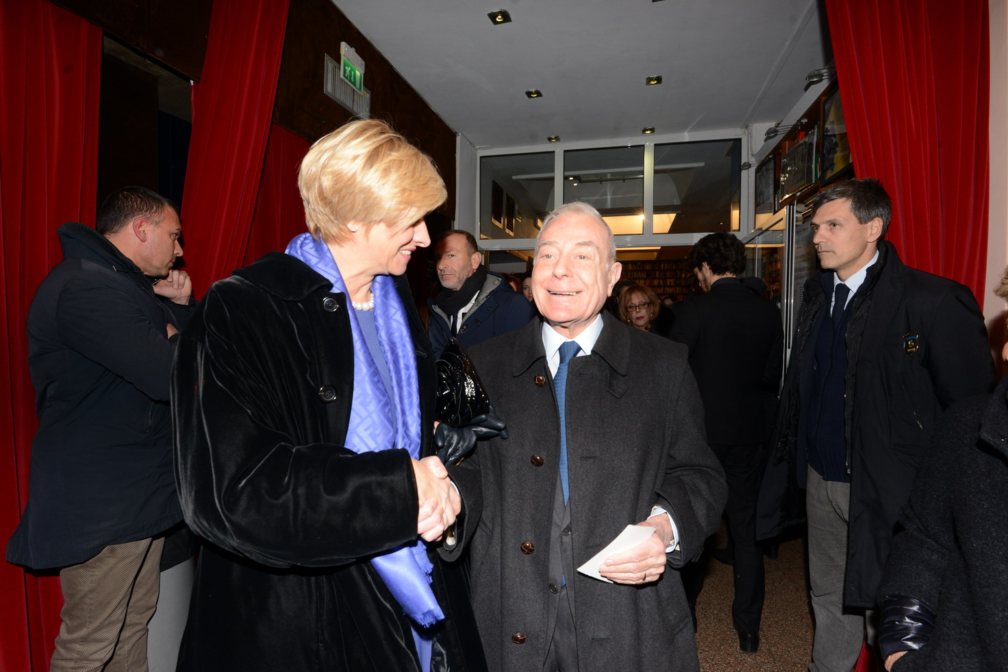 Roberta Pinotti e Gianni Letta