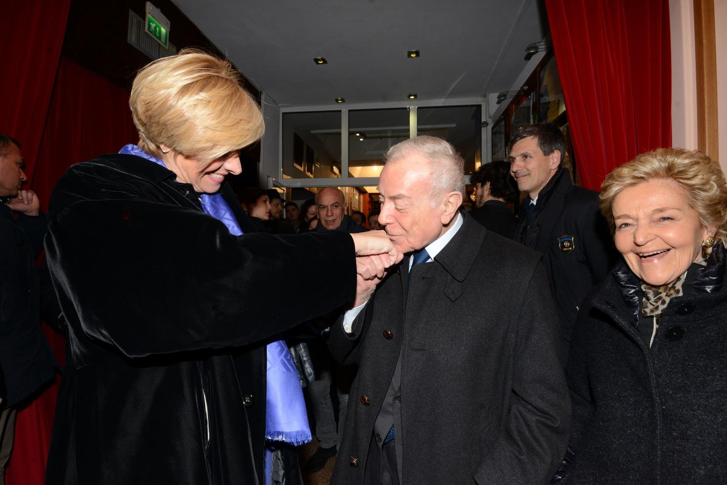 Roberta Pinotti, Gianni Letta
