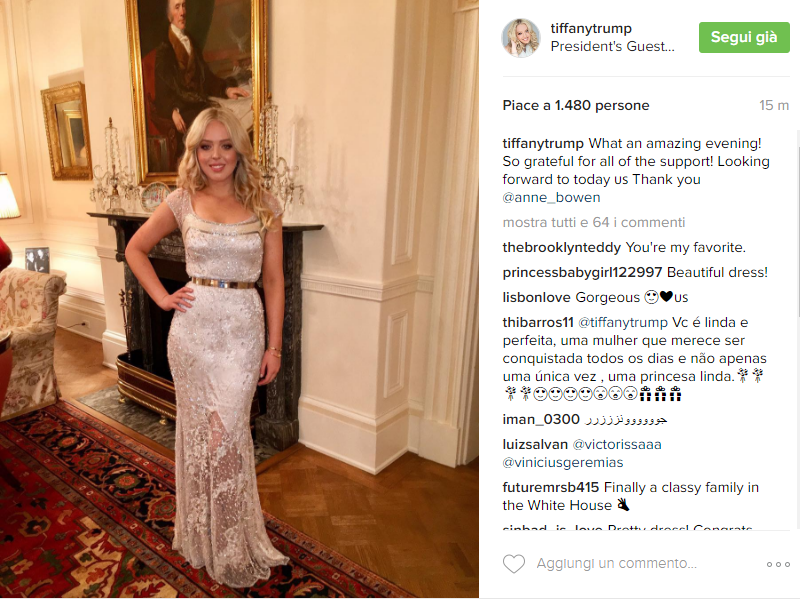 Tiffany Trump- Instagram