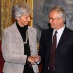 Christine Lagarde e Giulio Tremonti - Imagoeconomica