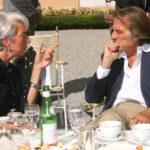 Christine Lagarde e Luca Cordero di Montezemolo - Imagoeconomica