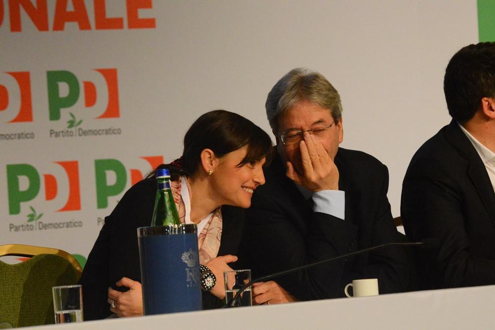 Debora Serracchiani e Paolo Gentiloni