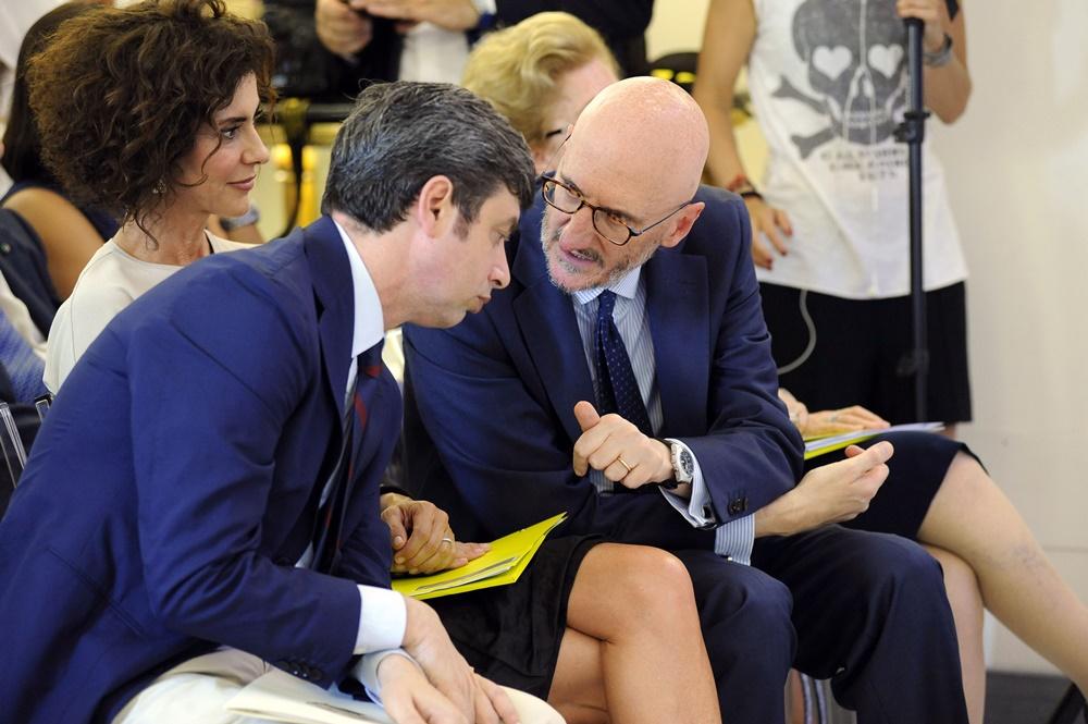 Andrea Orlando, Luisa Todini e Francesco Caio