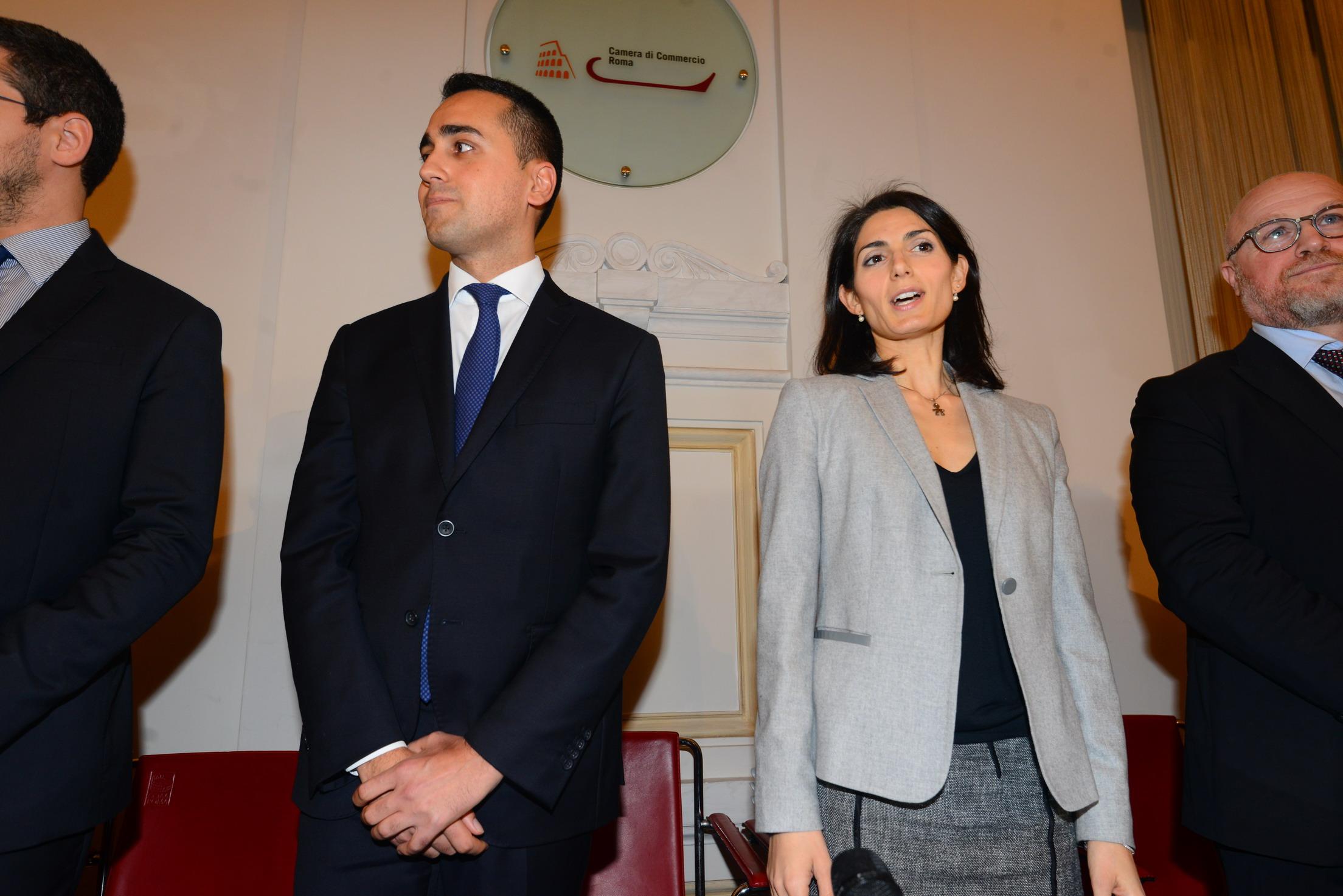 Luigi Di Maio e Virginia Raggi