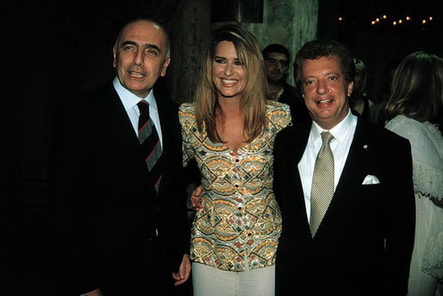 Adriano Galliani, Daniela Rosati, Vittorio Cecchi Gori (1997)