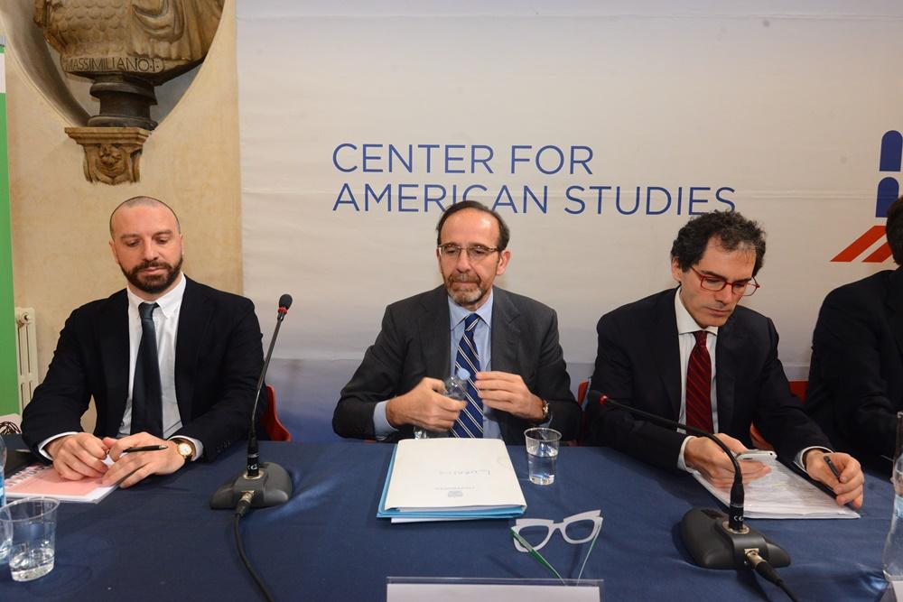 Federico Anghelè, Riccardo Nencini e Pierluigi Petrillo