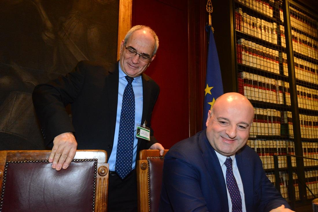 Yossi Kuperwasser e Andrea Manciulli
